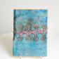 Fibre art textural loose book cover